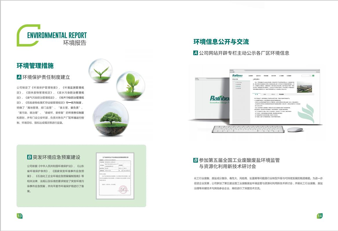 青岛润农化工有限公司宣传画册